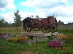 трактор в селе Талица
